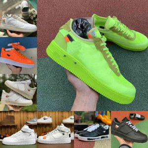 el aire de la vendimia al por mayor-Nike Air Force one airforce Shoes Vender Beat Designer Shoes Vintage New Outdoor Skate Sneakers Triple Negro Blanco Marrón Flax Naranja