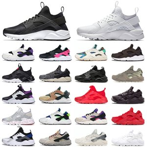 Wholesale huaraches original women for sale - Group buy 2021 Original women men Running Huarache shoes outdoor Professional huaraches sports Trainers Runners sneakers black white Hurache red green purple