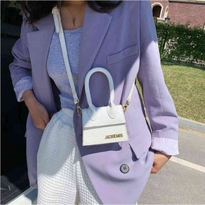 Wholesale jacquemus for sale - Group buy 2020 Designer Crossbody for Jacquemus Letter Luxury Brand High Quality Leather Shoulder Bags Women Handbags Mi