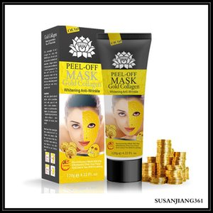 Wholesale face off mask for sale - Group buy EPACK Peel Off Mask gold collagen Deep Cleansing Pore Cleaner Golden mask ml Purifying Blackhead Remover Facial Mask Face Care Free DHL