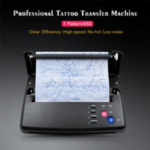 бумажные дорожки оптовых-110 V Professional Tattoo Taitute Machine Kit Kit Tracks Copier с Thermal Paper Tool High Speed Tattoos принтер