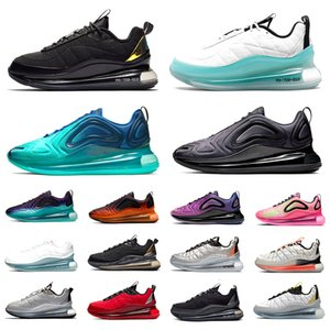 720 Black Magma 720-818 Mens Running shoes Metallic Silver GS Sea Forest clean white aqua CNY sail 720s men women trainers sports sneakers