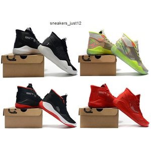 Wholesale kd shoes high cut resale online - 2019 Kevin Durant EP Basketball Men High Quality KD Training Sneakers KD12 Athletic Shoes Size With Box