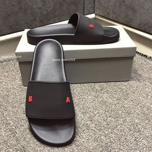 ingrosso pantofole per la casa-Top Paris Sliders Mens Womens Summer Beach Pantofole Sandali Sandali Ladies Flip Flops Outdoor Diapositive Diapositive per il tempo libero Mocassini Scarpe con scatola