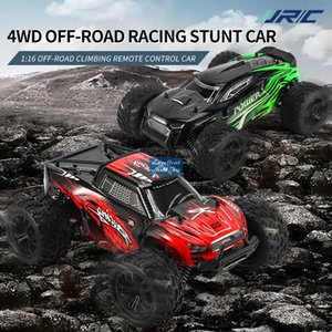 JJRC Q122 2.4G Remote Control Climbing Off Road Car& Kid Toy, 4WD 1:16 Big Tire Monster Truck, High Speed 36 KM H, with Four-wheel Suspension, Christmas Boy Gift, 2-1