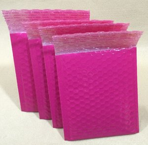 Wholesale pink Bubble Envelopes Wrap Bags Pouches packaging plastic Mailer Packing package pink Packaging Courier Bags