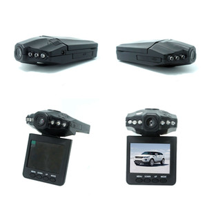 Wholesale HD Car DVR Radio H198 Camera Blackbox IR LED Night Video Recorder inch TFT Colorful Screen Rotating Free DHL