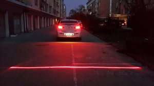 Wholesale New Anti Fog Car Laser Light Anti collision laser LED Laser Fog Light Car Warning Radiation Light New car styling Cars powerful
