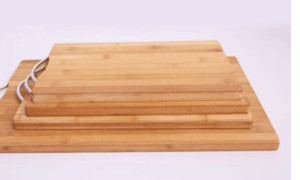 Bamboo Cutting Board Totally Kitchen Wood Chopping Boards Nature New Bamboo Kitchen Chopping Board 1.8 cm Thick Kitchen Supplies on Sale