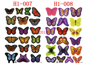 Wholesale 9500pcs sets PVC D DIY Butterfly Wall Stickers Home Decor Poster for Kitchen Bathroom Adhesive to Wall Decals Decoration