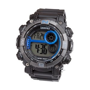Electronic watches boys outdoor sports running electronic watches multi-purpose waterproof cycling essential timer
