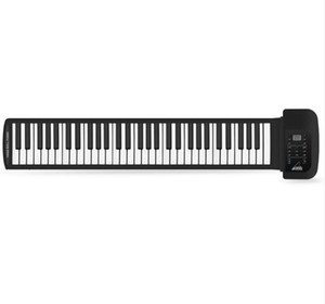 Wholesale 61 Keys Synthesized Tones Preset Rhythms Superior Roll Up electrical Piano with Soft Keys for kids education