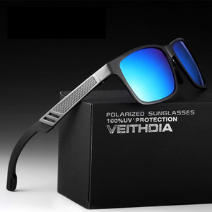 мужские солнцезащитные очки veithdia оптовых-Men s Polarized Sports Brand Designer Sunglasses Sunglass Driving Sun Glasses Gafas de sol de los hombres