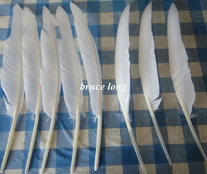 Wholesale white goose feathers turkey feathers jewelry craft hat mask decor feather cm