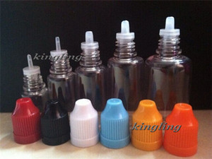 Wholesale Needle Bottle ml ml ml ml ml ml Plastic Dropper Bottles CHILD Proof Caps Tip LDPE For E Vapor Cig Liquid Empty Bottle