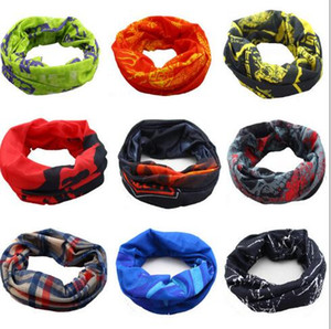 Wholesale Liva Girl Punk Style Printed Headband Bandana Scarf Multifunctional Seamless Face Mask Tube Ring Scarf Men Women TO255