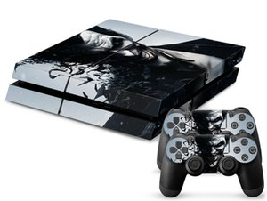 Wholesale ps4 prices resale online - Low Price Cool Joker Vinyl Decal Skin Sticker for sony Playstation for PS4 console and cover decals of Controllers