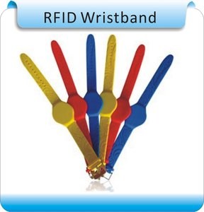 100pcs silicon 125Khz RFID wristbands,cabinet lock key with natatorium ID buckle bracelets, LF wrist strap