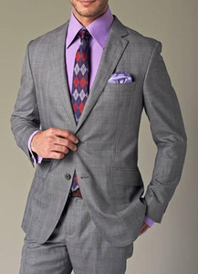 People smoked grey suit brand wool popular 2015 handsome suit 2 button tight-fitting suit jacket