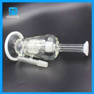 Wholesale smokers sale for sale - Group buy Hottest Sale mm inch glass bong glass water with mm clear male joint pipes glass bongs for smoker