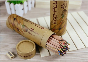Marco Colored Pencils for Children Kids Students 48 Color Eco-Plus Wooden Pencils Wholesale for Drawing School Supplies