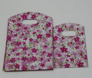 Hot Sales ! Jewelry Pouches .200pcs Flower Plastic Bags Jewelry Gift Bag .9X15cm   13x20cm  15x20cm Etc.