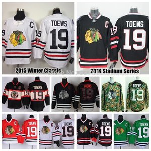 Wholesale 2015 Jonathan Toews Chicago Blackhawks Hockey Jerseys Jonathan Toews Jersey Winter Classic Black Cheap Stitched Logos C Patch