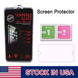 Wholesale Screen Protector mm Tempered Glass D Explosion Shatter Explosion Proof Film In pack For iPhone With DHL