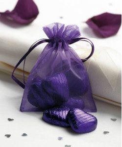 Wholesale Organza Favor Bags 9 x12cm, Wedding Jewelry Packaging Pouches, Nice Gift Bags, 100 PCS lot