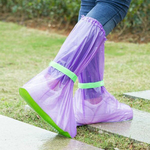 Portable Outdoor Travel Slip Rain Shoe Covers Waterproof Rain Boots Household Merchandises Rain Gear Raincoats Accessories