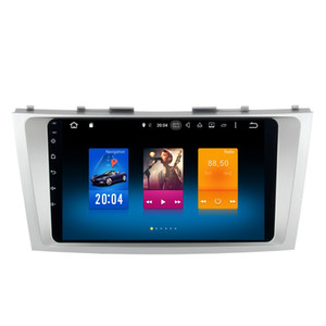 Wholesale 9 quot Octa Core Android Car DVD Radio For Toyota Camry GPS G WIFI G OBD DVR SWC OBD DVR Mirror Screen K Video BT USB
