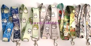 Wholesale Hot Cute Multicolor My Neighbor Totoro Children s Lanyard Key Chain ID Badge Holder Protector