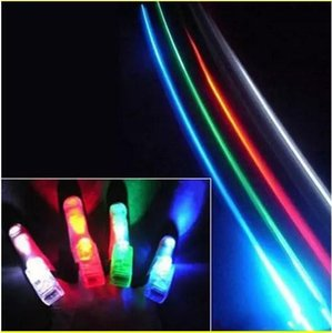 Wholesale Hot Manufacturers sale LED Finger Lamp LED Finger Ring gifts Lights Glow Laser Finger Beams LED Flashing Ring Party Flash Kid Toys Colors
