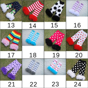 Wholesale Infant Baby Toddler Girls Boys baby christmas leg warmers ruffle lace leg warmers Socks halloween adult arm warmers style choose freely