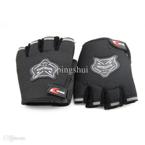 Wholesale-Weight Lifting Gloves Workout Body Building Gym Gloves Half Finger Fitness Anti Slip Bar Grips Power Training Exercise Mittens