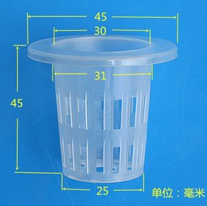 Wholesale 2016 Basket Cup Soilless Cultivation Out Planting Basket Hydroponic Water Out Planting Basket Cup Hydroponics Garden Supplies E488L