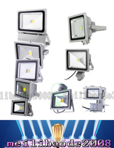 Wholesale GLW LED flood light PIR Motion Sensor lamp W W W W outdoor Floodlight