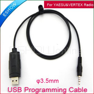 Wholesale USB Program Cable for YAESU amp VERTEX Radio VX R R R Walkie talkie two way CB Ham Radio J0013A Eshow