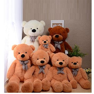 COLORS GIANT STUFFED PLUSH TOYS TEDDY BEAR 60 80 100 120 160 180 200cm Halloween Christmas gift Valentine's day birth gifts for children
