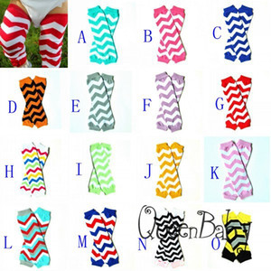24Pairs 318styles Chevron Baby Leg Warmer Children Skull LegWarmers Christmas leggings Tights Halloween Pumpkin Adult Arm warmers