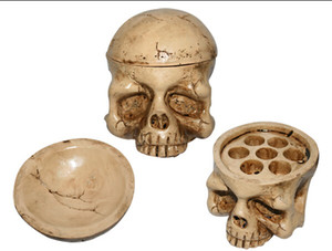 Wholesale New Skull Type Hard Resin Tattoo Ink Cup Holder Tattoo Accessories Tattoo Body Art