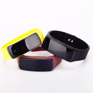 Wholesale Fashion Sport LED Watches Candy Color Silicone Rubber Touch Screen Digital Watches Bracelet Wristwatch