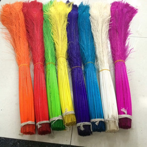 Wholesale Lot36 inch cm dyed Peacock Tail Feathers Table decoration Wedding party supplies DIY