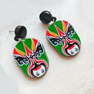 Acrylic mask, small gift, commemorative Earring