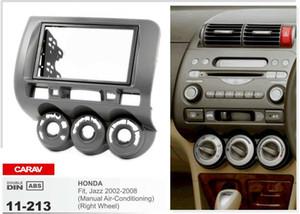 CARAV 11-213 Top Quality Radio Fascia forHONDAFit,Jazz(Manual Air-Conditioning)(Right Wheel)Fascia Dash CD Trim Installation Kit