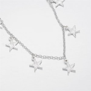 Wholesale sexy jewelry for women ankle resale online - Fashion Luminous Pentagram Star Ankle Heart Star Charm Bracelet Anklets Sandal Sexy Beach Leg Chain For Women Summer Beach Jewelry J2