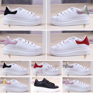 Wholesale toddler red bottom shoes resale online - 2021 Designer Kids Shoes For Boys Girls Sneaker ander Thick Bottom White Black Red Boby Toddler Casual Sneakers Size