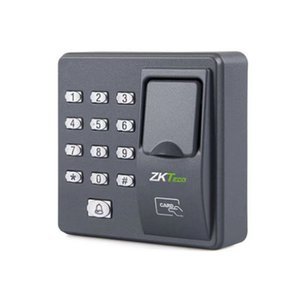 Wholesale security finger resale online - Digital Electric RFID Reader X6 Finger Scanner Code System Biometric Fingerprint Access Control for Door Lock Home Security System