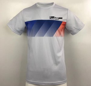 Wholesale motorbike shirts resale online - F1 racing T shirt car team overalls motorbike ride quick dry short sleeves can be customized