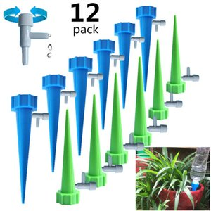 Wholesale watering spikes resale online - Auto Drip Irrigation Watering Equipments Dripper Spike Kits Garden Household Plant Flower Automatic Waterer Tools Waterings System for Potted Flowers